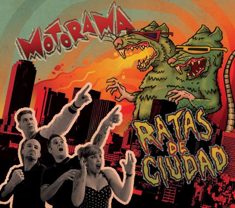 Tapa del Cd Ratas de Ciudad. (Diseño: Cesar Zanardi)