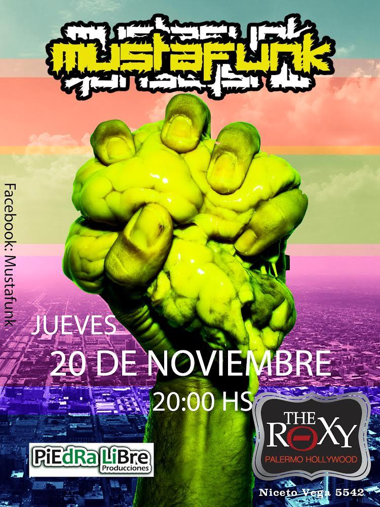 Jueves 20 de Noviembre en The Roxy, Niceto Vega 5542.